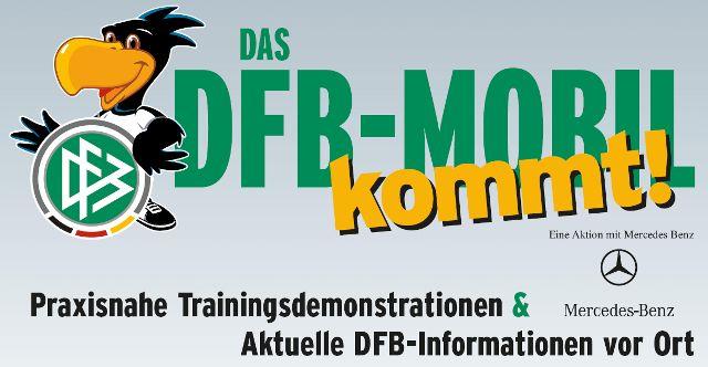 Das DFB-Mobil: Neues Schulungsangebot für Fußballvereine