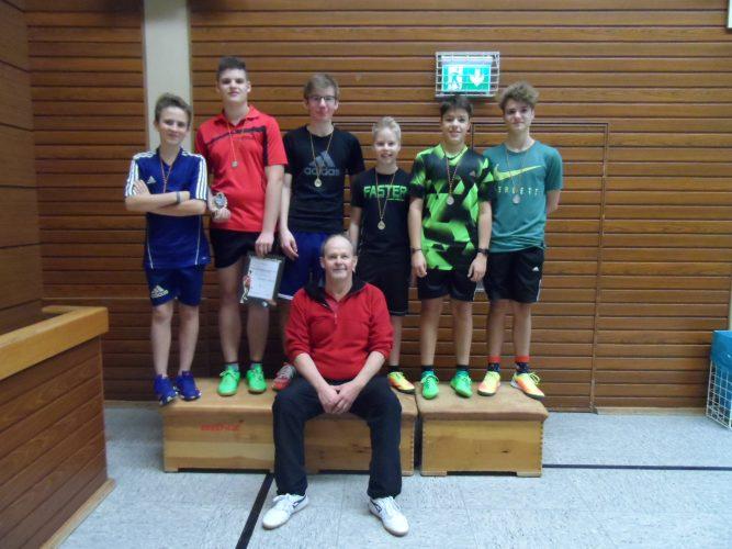 TT Vereinsmeisterschaften: Tobias Münst verteidigt erfolgreich seinen Titel!