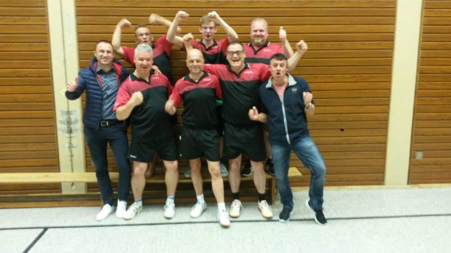TT: Doppelte Meisterschaft ist perfekt – Herren 1 und 2 sind Meister!