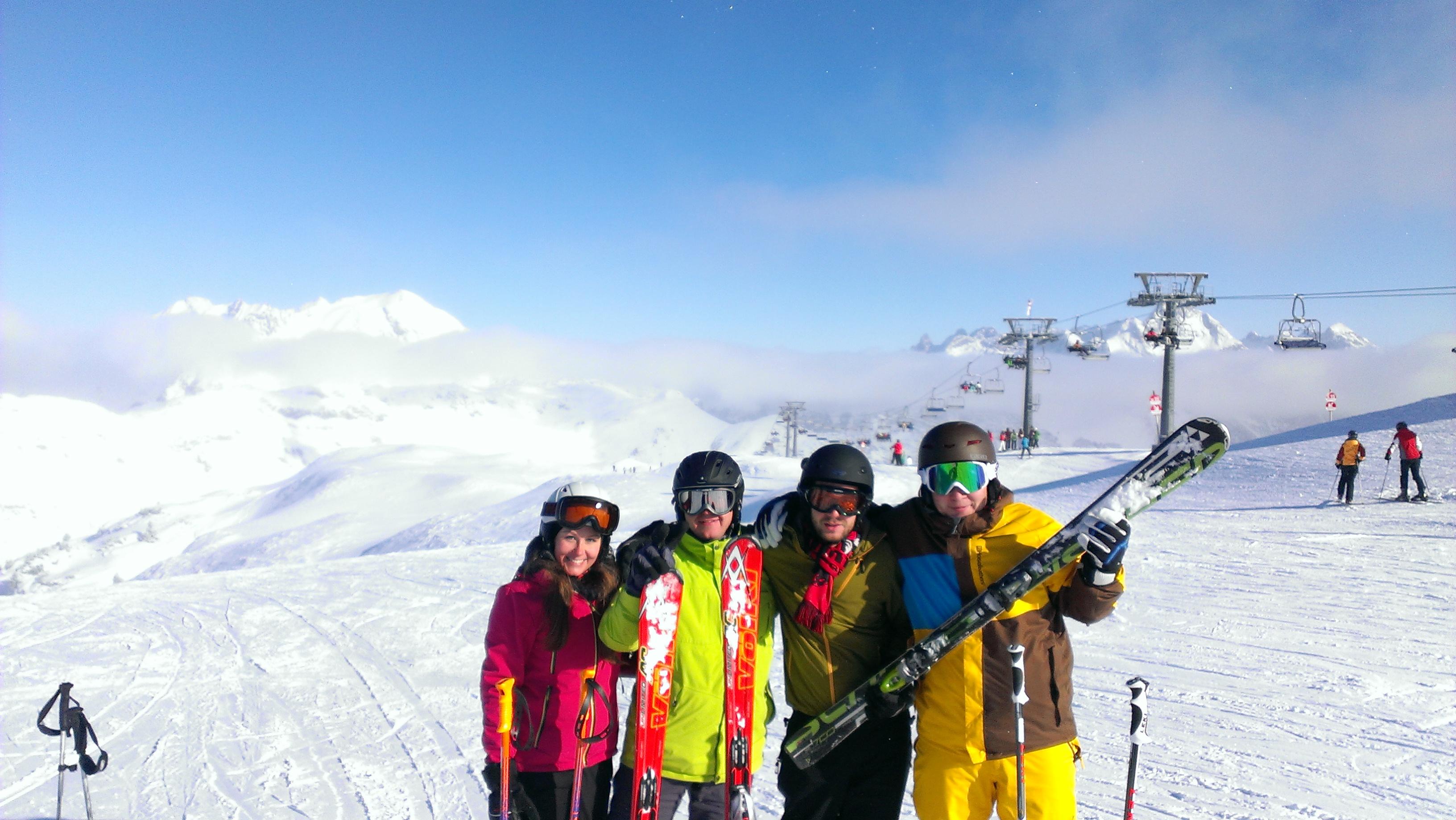 SVD Skiausfahrt ins Skigebiet Mellau-Damüls